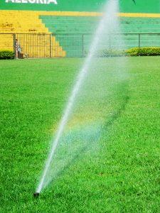Irrigação em Áreas Esportivas - Estádio Ibirité