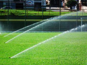 Irrigação em áres esportivas
