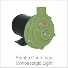 Bomba Centrífuga Monoestágio Light