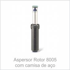 Aspersor Rotor 8005 com camisa de aço