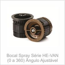 Bocal Spray Série HE-VAN Ângulo ajustável