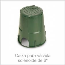Caixa para válvula solenoide de 6