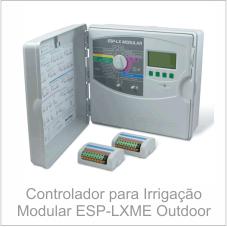 Controlador para Irrigação Modular ESP-LXME Outdoor