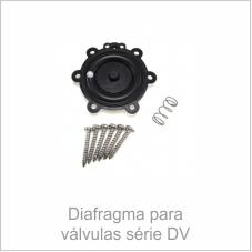 Diafragma para válvulas série DV