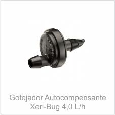 Gotejador Autocompensante Xeri-bug 4,0 L/h