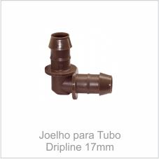 Joelho para Tubo Dripline 17mm