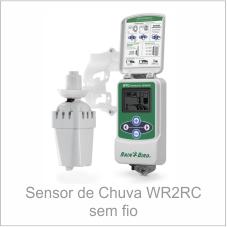 Sensor de Chuva WR2RC sem fio Rain Bird