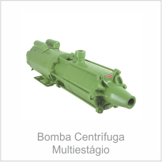Bomba Centrífuga Multiestágio