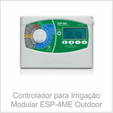 Controlador para Irrigação Modular ESP-4ME Outdoor