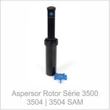 Aspersor Rotor Série 3500