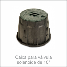 Caixa para válvula solenoide de 10