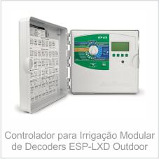 Controlador para Irrigação Modular de Decoders ESP-LXD Outdoor