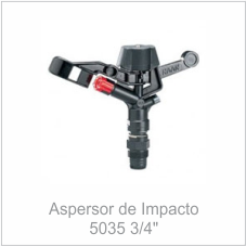 "Aspersor de Impacto 5035 3/4"""