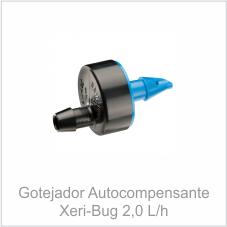 Gotejador Autocompensante Xeri-bug 2,0 L/h