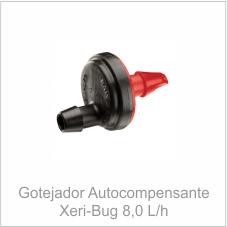 Gotejador Autocompensante Xeri-bug 8,0 L/h