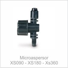 Microaspersor XS090 - XS180 - XS360