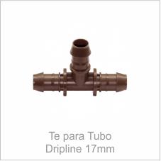 Te para Tubo Dripline 17mm