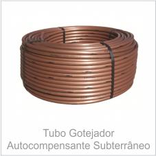 Tubo Gotejador Autocompensante Subterrâneo