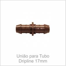 União para Tubo Dripline 17mm