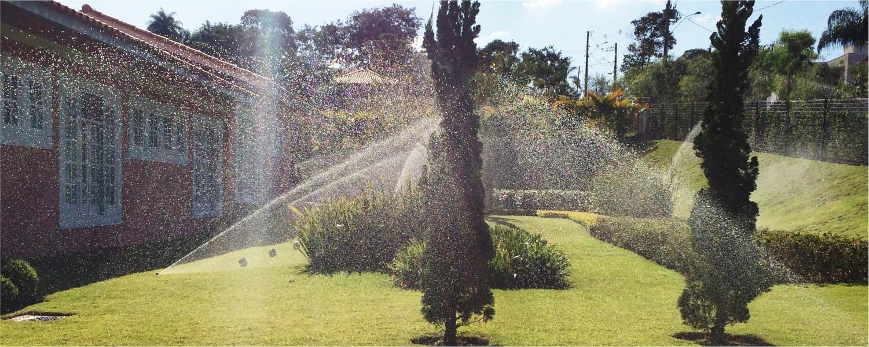 Irrigação Paisagística